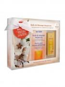 Weleda Stretch Mark Massage Oil - Подарочный набор масла для профилактики растяжек 2 шт х 100 мл