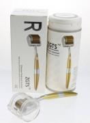 Мезороллер ZGTS титановые иглы с позолоченным напылением, 200 микроигл
