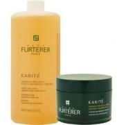 Rene Furterer Karite Intense Nourishing Conditioning Cream - Интенсивная питательная маска Карите 1000 мл