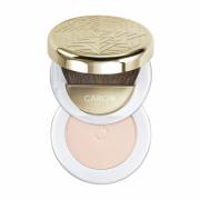Caron Poudre Semi-Libre-Transparentes Rose Bonne Mine - Компактная пудра Карон, транспарантная серия, оттенок Rose Bonne Mine, 10 г