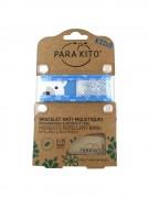 Parakito Mosquito Repellent Band Blue Polar Bear  - браслет от комаров, цвет голубой