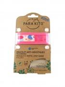 Parakito Mosquito Repellent Band Pink Ice-Cream - браслет от комаров, цвет розовый