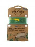 Parakito Mosquito Repellent Band Green Crocodile - браслет от комаров, цвет зеленый