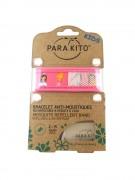 Parakito Mosquito Repellent Band Pink Princess - браслет от комаров, цвет розовый