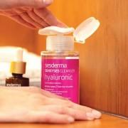 Sesderma Sensyses Hyaluronic Cleanser - Антивозрастной липосомальный увлажняющий лосьон для снятия макияжа, тонизации и восстановления гидролипидной мантии кожи, 200 мл