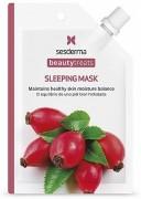 Sesderma Beauty Treats Sleeping Mask - Регенерирующая, питательная, восстанавливающая маска для сна с маслом шиповника и гиалуроновой кислотой для восстановления цвета лица, 25 г⠀